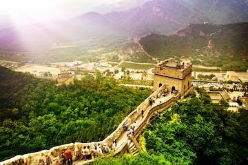 Pequim :: Grande Muralha em Mutianyu e Tumbas Ming em Dingling
