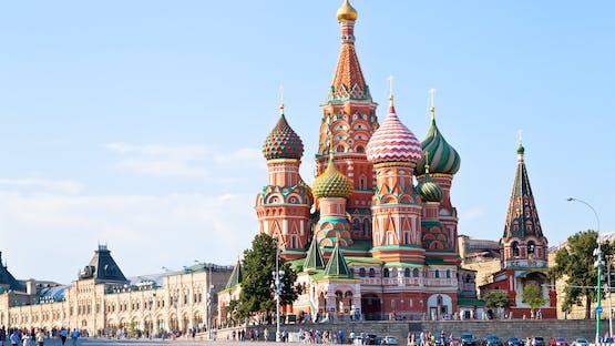 Russo em Moscou