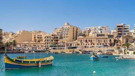 Inglês em Malta