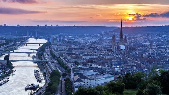 Francês em Rouen