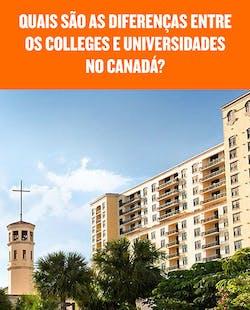 Diferença entre Colleges e Universidades no Canadá