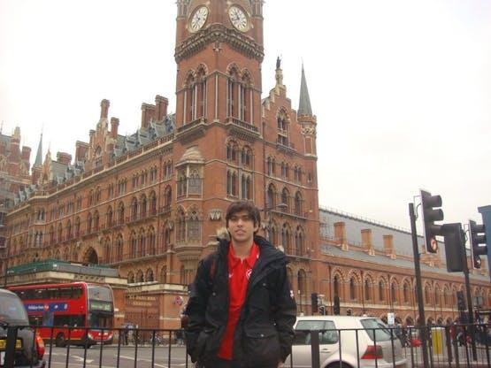 Gabriel em Londres