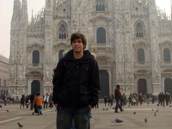 Gabriel em Milão
