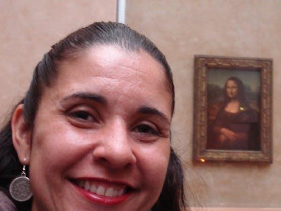 Eu e a Monalisa
