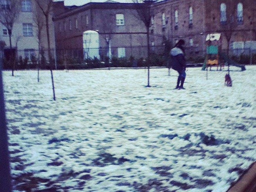 Primeiro dia de Neve ..