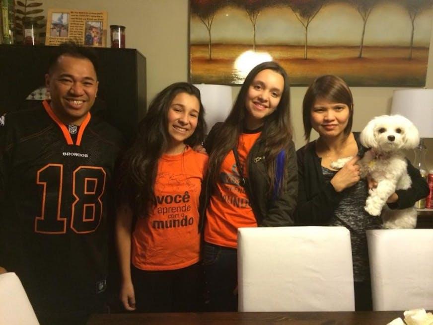 Minha host-family e minha roomate de Toronto
