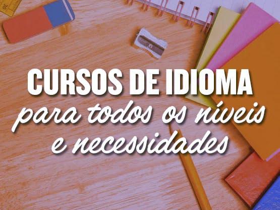 <strong>Cursos de Idioma</strong>