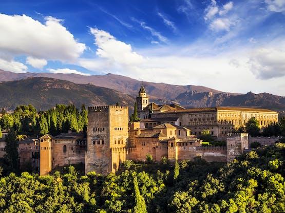 Palácio de Alhambra. Granada, Espanha