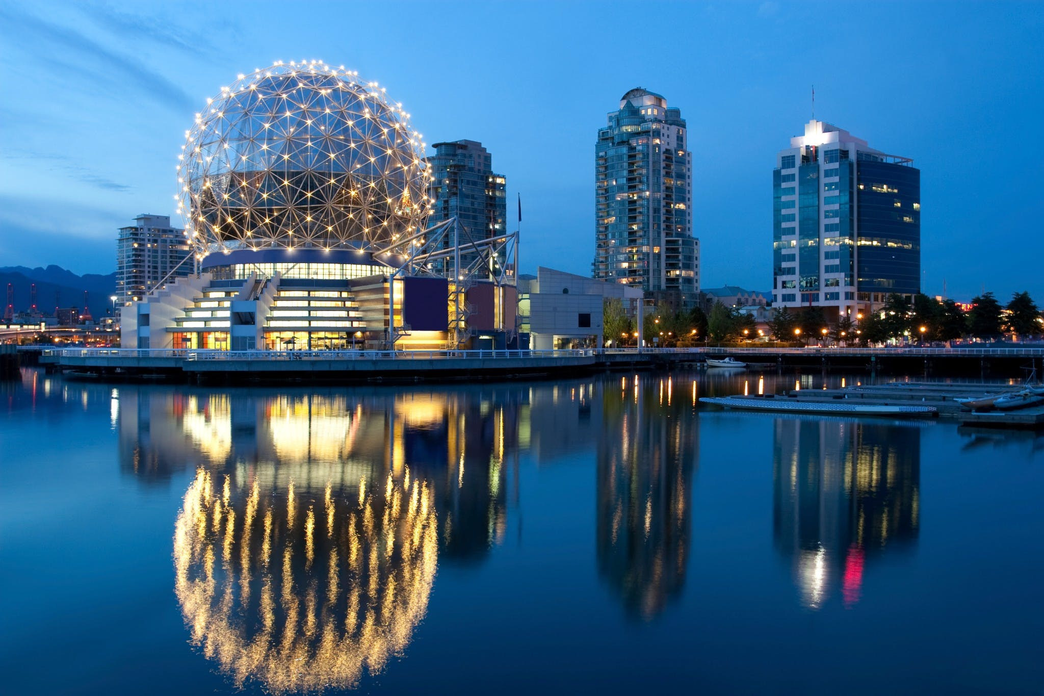 Guia De Vancouver, No Canadá