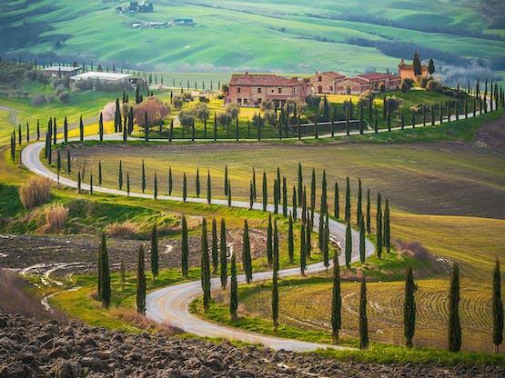 Região da Toscana, na Itália