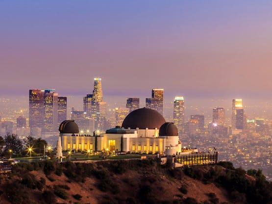 Griffith Park Observatory. Los Angeles, EUA