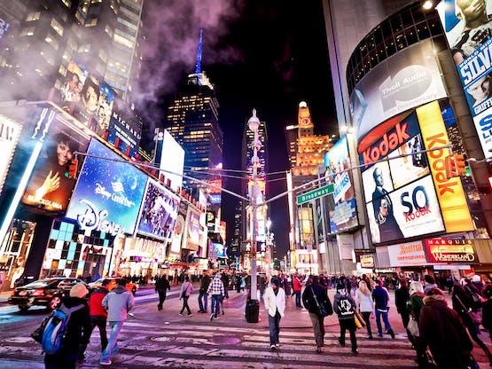 Times Square. Nova York, EUA