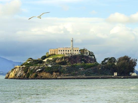 Prisão de Alcatraz. San Francisco, EUA