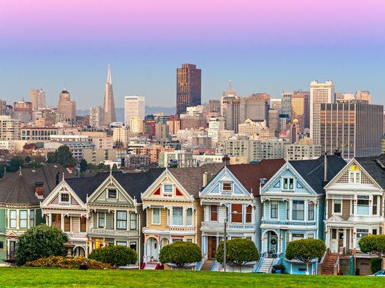 The Painted Ladies. San Francisco, EUA