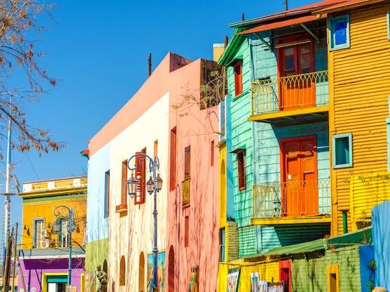 Intercâmbio na Argentina - Caminito, Buenos Aires