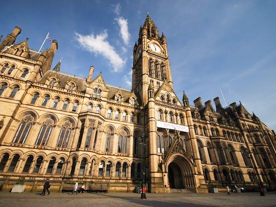 Townhall. Manchester, Inglaterra
