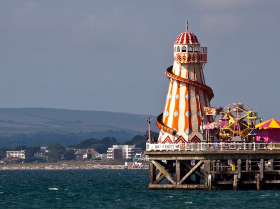 Pier de Bournemouth, Inglaterra