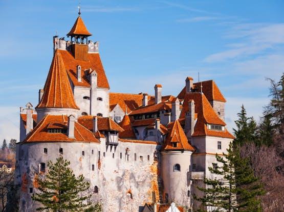 Castelo Bran, o Castelo do Dráculo. Transilvânia, Romênia