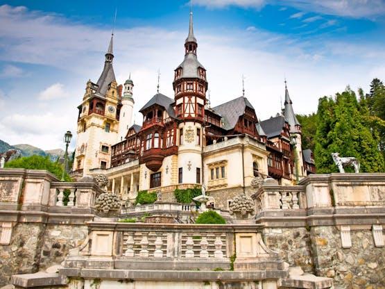 Castelo Peles, Transilvânia. Romênia