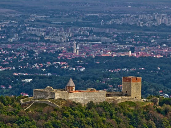 Castelo Medvedgrad. Zagreb, Croácia