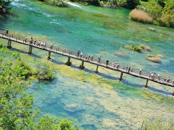 Parque Nacional Krka. Lozovac, Croácia