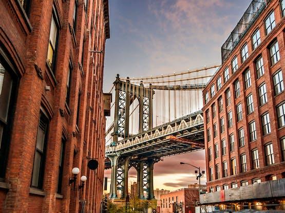 Ponte de Manhattan. Nova York, EUA