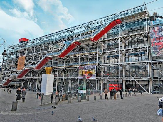 Centro Georges Pompidou. Paris, França