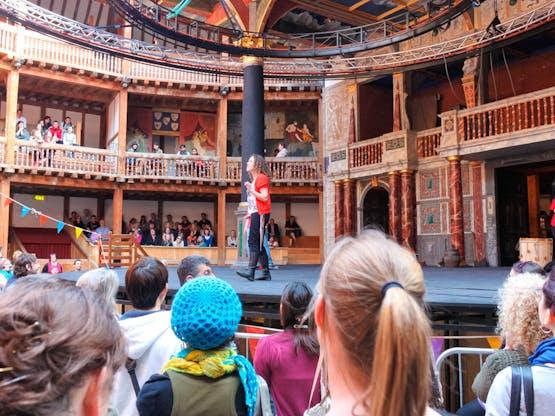 Teatro The Globe. Londres, Inglaterra