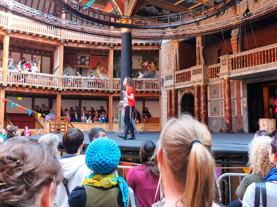 Intercâmbio Londres - Teatro The Globe. Inglaterra