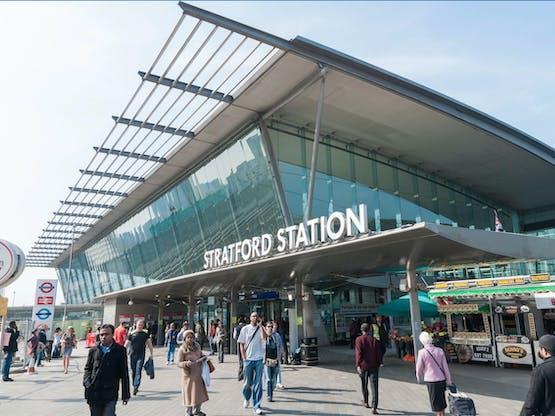 Stratford Station. Londres, Inglaterra