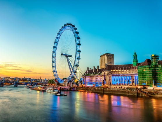 London Eye. Londres, Inglaterra