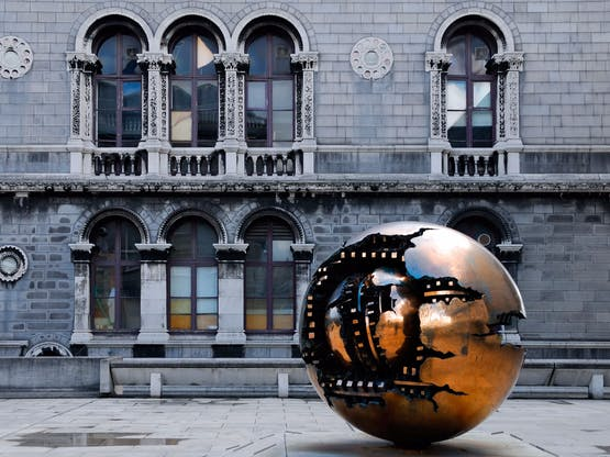 Intercâmbio Dublin - Escultura