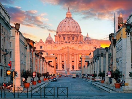 Basílica de São Pedro. Roma, Itália