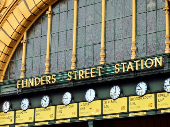 Estação Flinders Street Railway