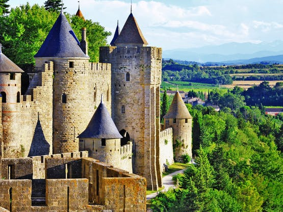 Fortaleza medieval de Carcassonne