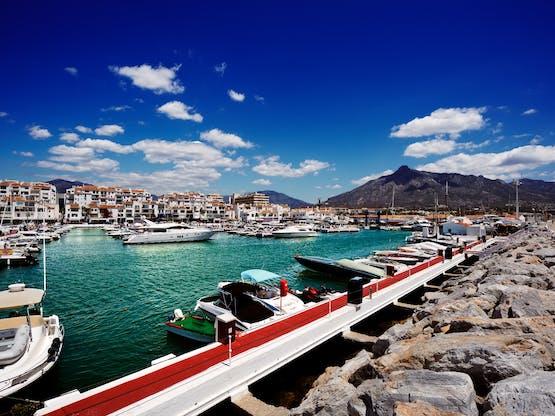 Puerto Banús, Marbella. Espanha