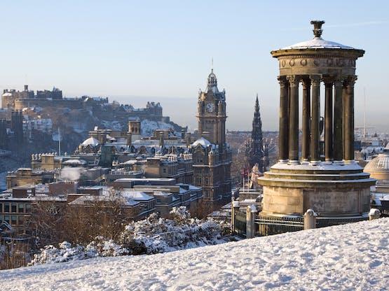 Cidade e castelo de Edimburgo, Escócia