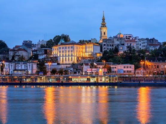 Rio Sava. Belgrado, Sérvia
