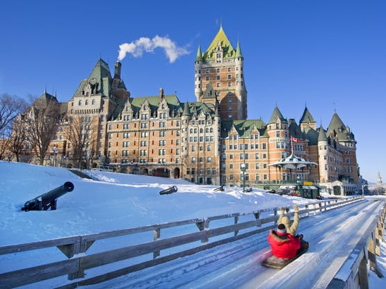 Hotel Chateau Frontenac, Quebec