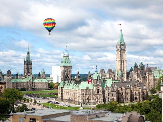 Edifícios do Parlamento do Canadá na Colina do Parlamento, Ottawa