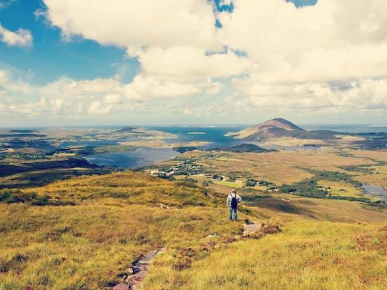 Connemara National Park, Letterfrack. Irlanda