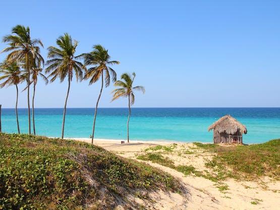 Playa Megano en Playas del Este. Havana, Cuba