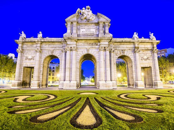 Puerta de Alcala, Madri