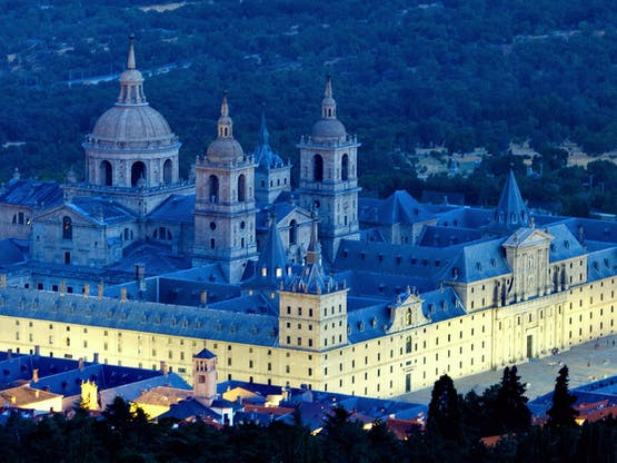 Monastério em San Lorenzo El Escorial, Madri