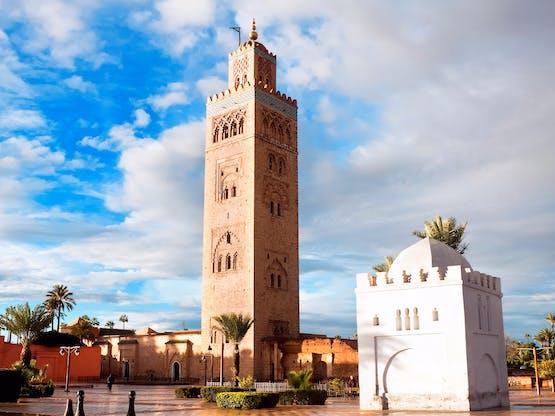 Mesquita de Koutoubia, Marrakech. Marrocos