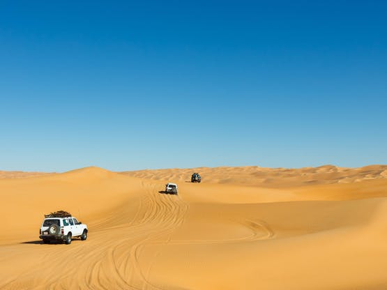 Off Road no Deserto do Saara, Marrocos