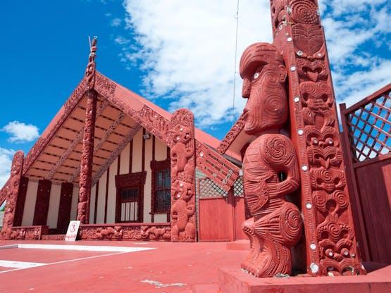 Marae, local de encontro das comunidades maori