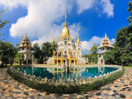 Pagode (templo) Buu Long em Ho Chi Minh City, Vietnã