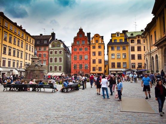 Praça Stor Torget, Estocolmo