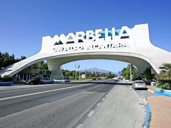 Arco de Marbella em San Pedro, Espanha